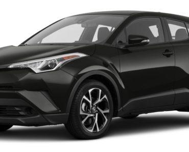 Toyota C-HR масло для двигателя