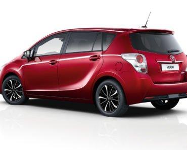 Toyota Verso масло для двигателя
