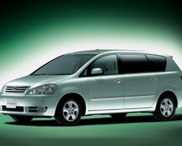 Toyota Ipsum масло для двигателя