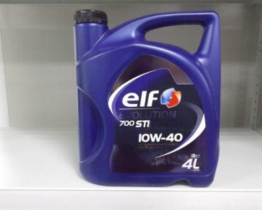 Elf Evolution 700 STI 10W-40 полусинтетическое масло