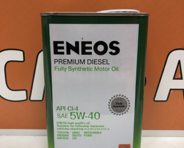 ENEOS Premium Diesel 5W-40 CI-4 синтетическое масло