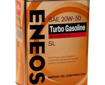 Eneos Turbo Gasoline 20W-50 минеральное масло