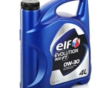 Elf Evolution 900 FT 0W-30 синтетическое масло