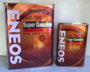 Eneos Super Gasoline 5W-30 полусинтетическое масло