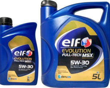Elf Evolution Full-Tech MSX 5W-30 синтетическое масло