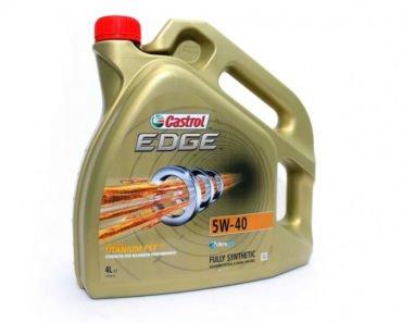 Castrol EDGE 5W-40 синтетическое масло