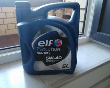 Elf Evolution 900 NF 5W-40 синтетическое масло