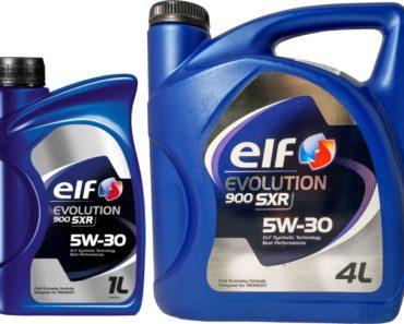 Elf Evolution 900 SXR 5W-30 синтетическое масло