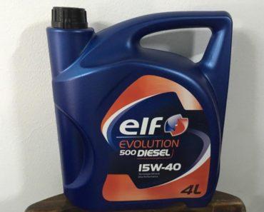 Elf Evolution 500 Diesel 15W-40 минеральное масло