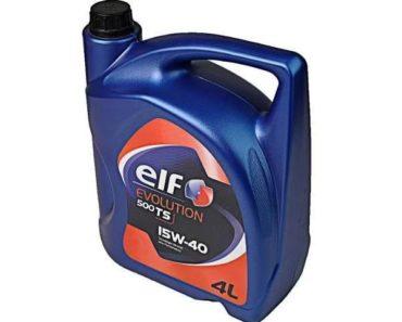 Elf Evolution 500 TS 15W-40 минеральное масло