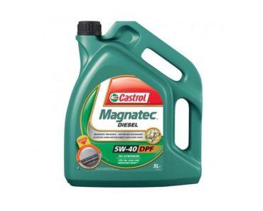Castrol MAGNATEC Diesel 5W-40 DPF синтетическое масло