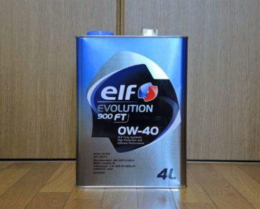 Elf Evolution 900 FT 0W-40 синтетическое масло