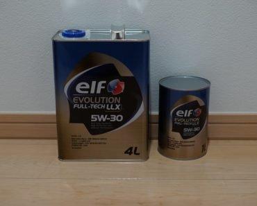 Elf Evolution Full-Tech LLX 5W-30 синтетическое масло