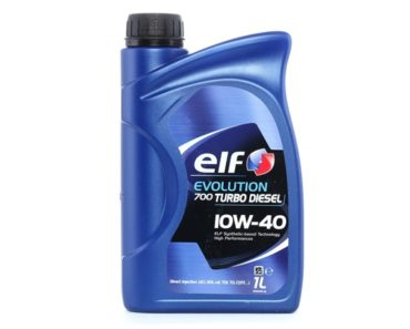 Elf Evolution 700 Turbo Diesel 10W-40 полусинтетическое масло