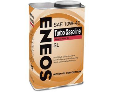 ENEOS Turbo Gasoline 10W-40 минеральное масло