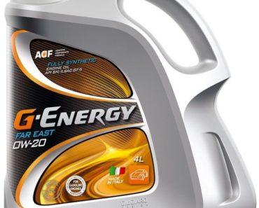 G-Energy Far East 0W-20 синтетическое масло