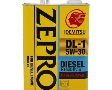 Idemitsu Zepro Diesel DL-1 5W-30 полусинтетическое масло