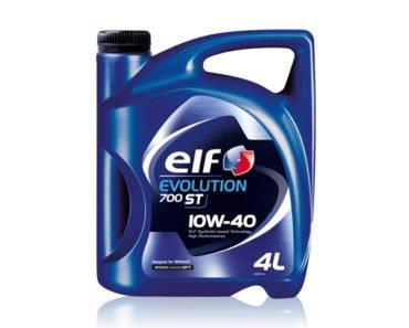 Elf Evolution 700 ST 10W-40 полусинтетическое масло